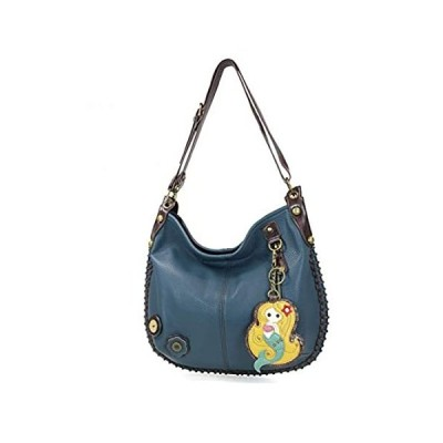 Chala Handbags, Casual Style, Soft, Large Shoulder or Crossbody Purse with