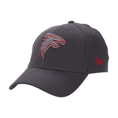 ニューエラ NFL Stretch Fit Graphite 3930 -- Atlanta Falcons メンズ 帽子 Graphite