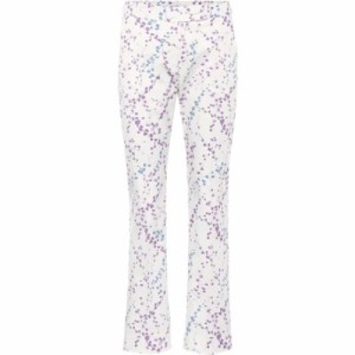 マックスマーラ Max Mara レディース ボトムス・パンツ badess floral-printed cotton trousers White