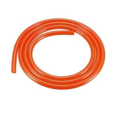 uxcell PU伝導ベルト 丸いベルト フラット 高品質ウレタン製 レッド 直径6 mm 長さ1 M