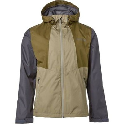 コロンビア メンズ ジャケット・ブルゾン アウター Columbia Men's Inner Limits II Rain Jacket Sage/New Olive/Shark Logo