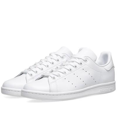 アディダス Adidas メンズ スニーカー シューズ・靴 Stan Smith Triple White
