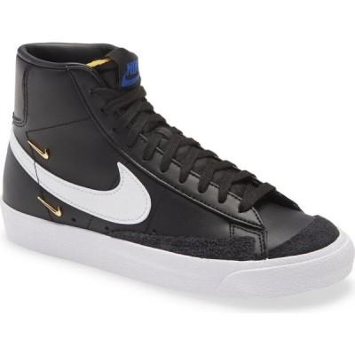 ナイキ NIKE レディース スニーカー シューズ・靴 Blazer Mid '77 SE Sneaker Black/White/Black