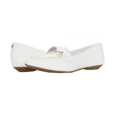 Anne Klein アン クライン レディース 女性用 シューズ 靴 ローファー ボートシューズ Orchard - White