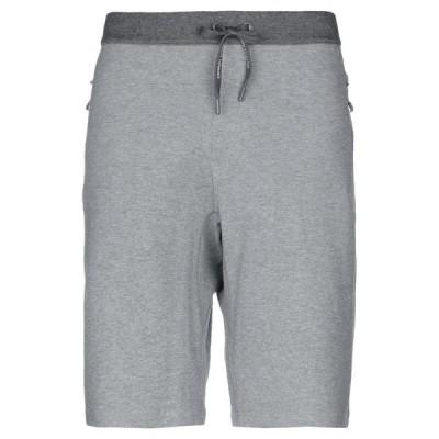 ARMANI EXCHANGE ショートパンツ&バミューダパンツ  メンズファッション  ボトムス、パンツ  ショート、ハーフパンツ グレー