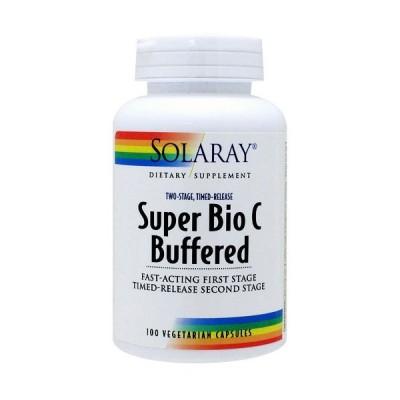 [ お得サイズ ] スーパー バイオ ビタミンC バッファード(2段階タイムリリース型) 100粒