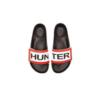 ハンター Hunter メンズ サンダル シューズ・靴 Orginal Adjustable Slide Black