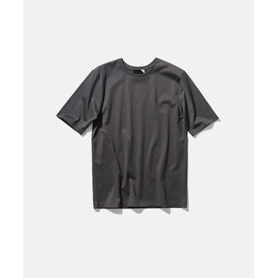 <ATON(Women)/エイトン> SUVIN 60/2 | パーフェクトショートTシャツ(KKAGIM0013) グレー【三越伊勢丹/公式】