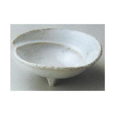 和食器06717-447 窯変彩釉三つ足向付 /18×17×6.5cm 料理道具・魚料理・刺身皿・光