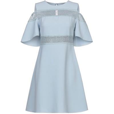リュー ジョー LIU •JO ミニワンピース&ドレス スカイブルー 44 91% ポリエステル 9% ポリウレタン ミニワンピース&ドレス