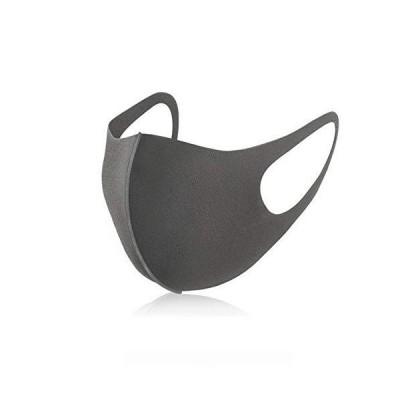 マスク 洗える 男女兼用 ウレタンマスク 4枚入り 洗えるマスク レギュラーサイズ 大人用 softfit mask おしゃれ フィット (GRAY)