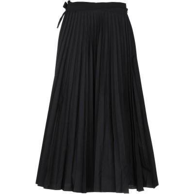 ヴァレンティノ VALENTINO 7分丈スカート ブラック 40 コットン 54% / ポリエステル 46% 7分丈スカート