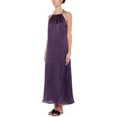 FISICO ビーチドレス パープル S シルク 100% ビーチドレス
