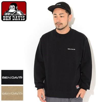 ベンデイビス トレーナー BEN DAVIS メンズ ヘビー クルー スウェット ( BENDAVIS I-0780049 Heavy Crew Sweat トップス )