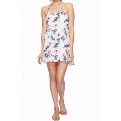 Spiritual Gangster  ファッション ドレス Spiritual Gangster NEW Pink Women Size Medium M Floral-Print Shift Dress