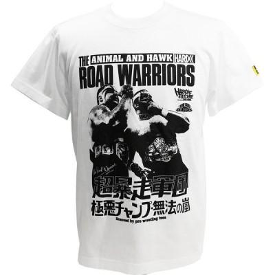 メール便対応: Tシャツ XXLサイズ:ロード・ウォリアーズ (超暴走軍団ホワイト)Hardcore Chocolate/ハードコアチョコレート
