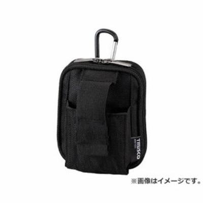 TRUSCO コンパクトツールケースワイド 2ポケット ブラック TCTC1803WBK [r20][s9-810]