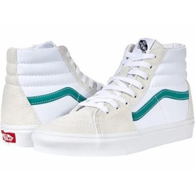 (取寄)バンズ ユニセックス SK8 ハイ Vans Unisex SK8-Hi (Classic Sport) Cadmium Green/True White