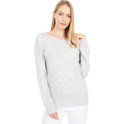 リリーピュリッツァー Lilly Pulitzer レディース ニット・セーター ラインストーン Laveta Rhinestone Sweater Heathered Seaside Grey Ritzy Rhinestones