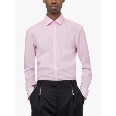 ヒューゴボス シャツ メンズ トップス HUGO by Hugo Boss Kenno Slim Fit Shirt, Light/Pastel Pink