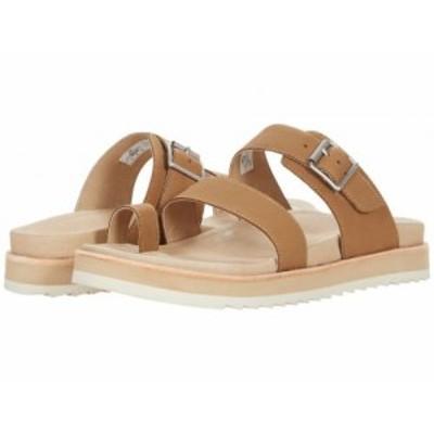 Merrell メレル レディース 女性用 シューズ 靴 サンダル Juno Buckle Slide Camel【送料無料】