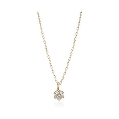 [エステール] ダイヤモンド 0 ct ネックレス 0442-9699-0019-0000 ピンクゴールド