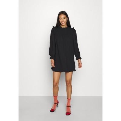 オンリー ワンピース レディース トップス ONLLAVIN SHORT DRESS  - Day dress - black