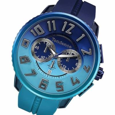 Tendence(テンデンス)De'Color(ディカラー) TY146101 オーシャン(海)カラー ネイビー×ブルー/腕時計[正規輸入品]