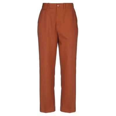 クローズド CLOSED パンツ ブラウン 25 ポリエステル 55% / バージンウール 45% パンツ
