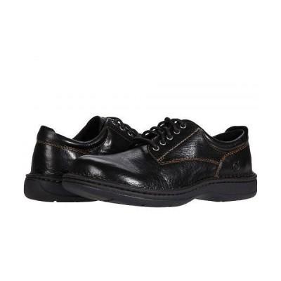 Born ボーン メンズ 男性用 シューズ 靴 オックスフォード 紳士靴 通勤靴 Hutchins III - Black Full Grain Leather
