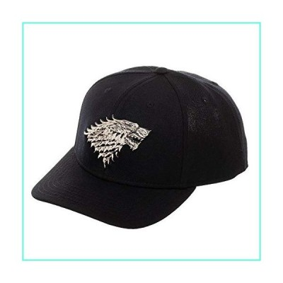 Game of Thrones House Stark Direwolf Logo Snapback Hat並行輸入品
