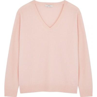 ヴィンス Vince レディース ニット・セーター トップス light pink cashmere jumper Pink