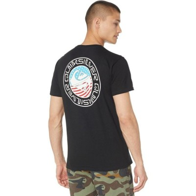 クイックシルバー Quiksilver メンズ Tシャツ トップス Feelin Festive Short Sleeve Tee Black