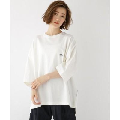 BASE STATION / ベースステーション スーパービッグシルエット チビロゴ 半袖 Tシャツ