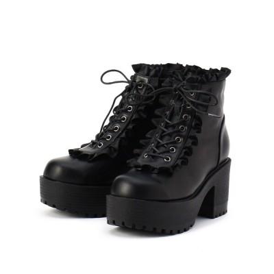 ESPERANZA / フリルブーツ WOMEN シューズ > ブーツ