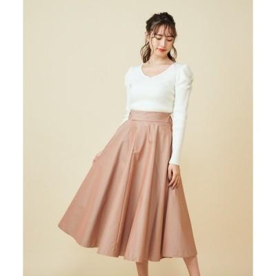 スカート カラースカート