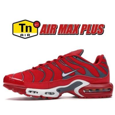 ナイキ エアマックス プラス NIKE AIR MAX PLUS university red/pure platinum 852630-600 スニーカー ユニバーシティ レッド エア マックス