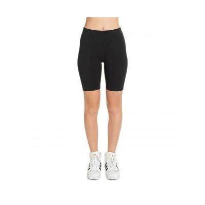 Hard Tail ハードテイル レディース 女性用 ファッション ショートパンツ 短パン Flat Waist Bike Shorts - Black