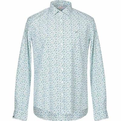 サン シックスティーエイト SUN 68 メンズ シャツ トップス patterned shirt Light green