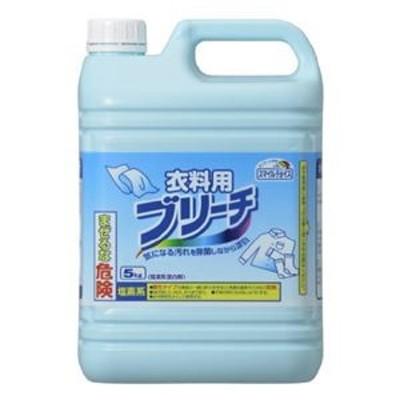 ds-2261237 (まとめ)スマイルチョイス塩素系漂白剤衣類用ブリーチ 本体 5kg【×5セット】 (ds2261237)