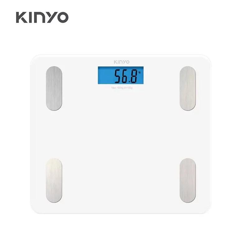 【KINYO】藍牙健康管理體重計 DS-6589