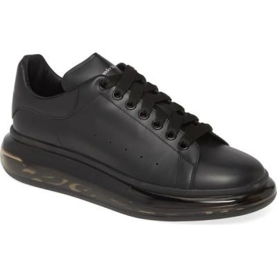 アレキサンダー マックイーン ALEXANDER MCQUEEN メンズ スニーカー ローカット シューズ・靴 Oversize Low Top Sneaker Black/Black/Black