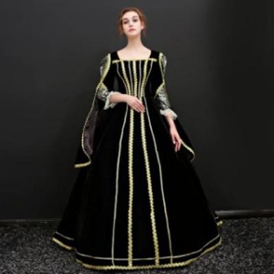 ジュリエット 衣装 ドレス ハロウィン 新劇演出 現代劇演出 貴族 サイズ指定可 王族服 中世 ヨーロッパ風 締め上げ 新入荷 カラードレス