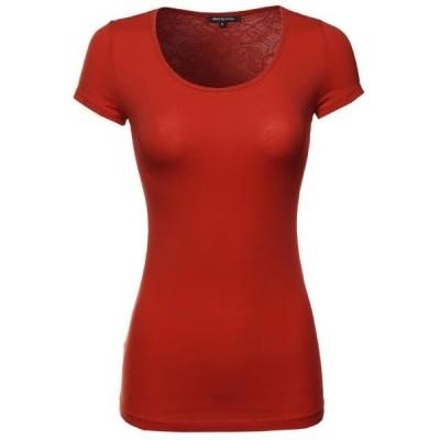 レディース 衣類 トップス FashionOutfit Women's All Laced Back Basic Tee ブラウス&シャツ