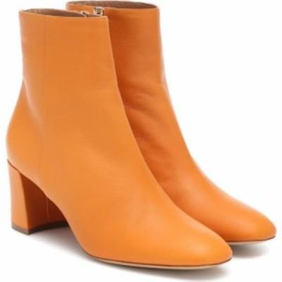 マンサーガブリエル Mansur Gavriel レディース ブーツ ショートブーツ シューズ・靴 Leather ankle boots Yellow Camel