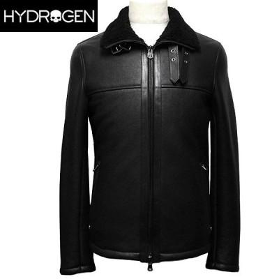 ハイドロゲン レザー ジャケット メンズ 革ジャン ブルゾン HYDROGEN 210900 007