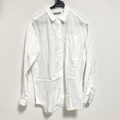 イッセイミヤケ ISSEYMIYAKE 長袖シャツ サイズ1 S メンズ 白 MEN【中古】20210403