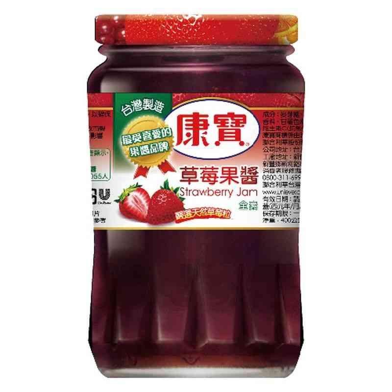 康寶草莓果醬400g