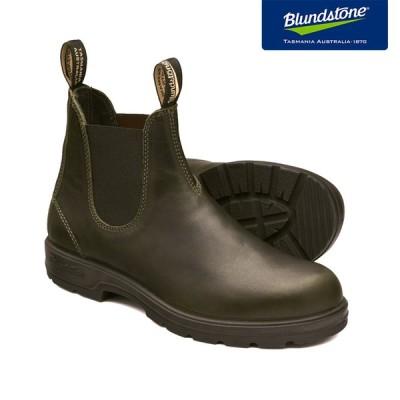 Blundstone ブランドストーン BS2052 Dark Green ダークグリーン スムースレザー サイドゴアブーツ BS2052408