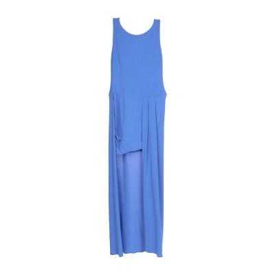 パトリティア ペペ セーラ PATRIZIA PEPE SERA ミニワンピース&ドレス ブルー 1 アセテート 75% / ナイロン 20% /